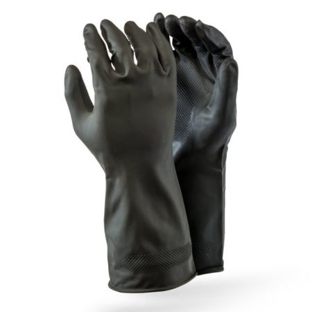 Allied Gloves (Builders Industrial Black Rubber)