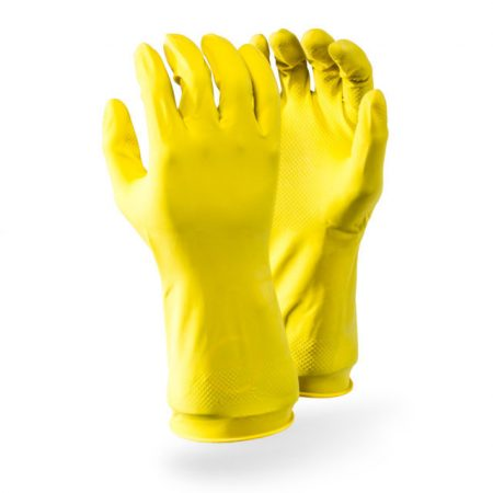 Allied Gloves Latex (Yellow)