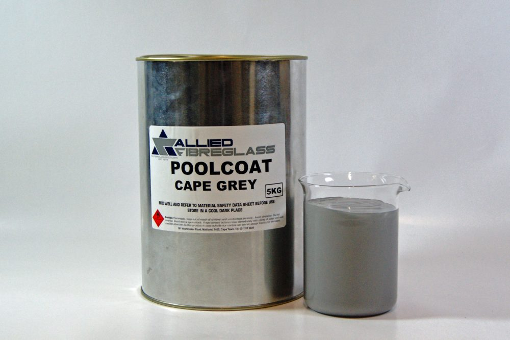 Allied Poolcoat & Topcoat Cape Grey - ISO NPG (73PA/E)