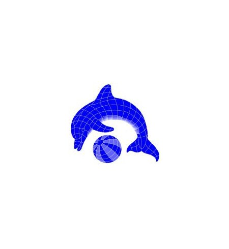 Swin-N-Style - Lady Small Dolphin + Ball